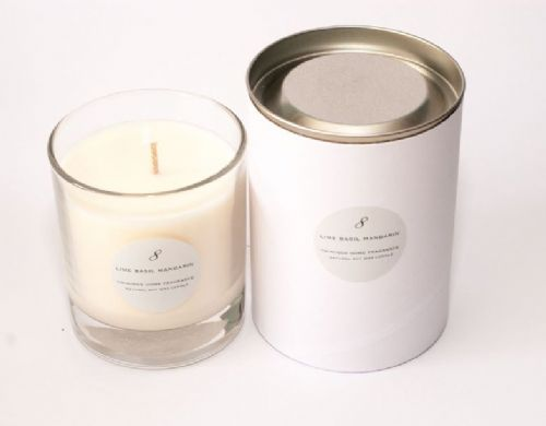Lime Basil Mandarin Single Wick Candle